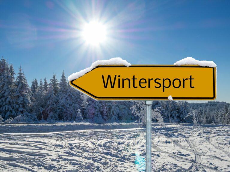 Taalkronkels - Wintersporten
