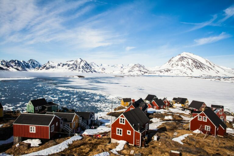 Grönlands Bodenschätze