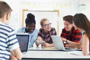 Sociale interactie leerlingen